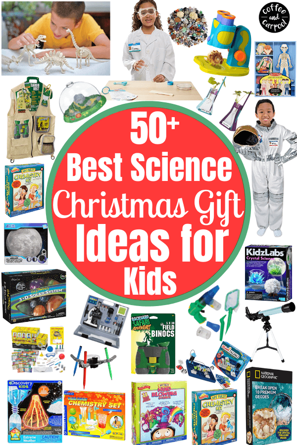 Must have gifts to encourage your kids to love science are perfect for your little scientists #holidaygifts #giftguides #giftideas #sciencegifts #stemgifts #giftstoencouragescience #giftsforstem