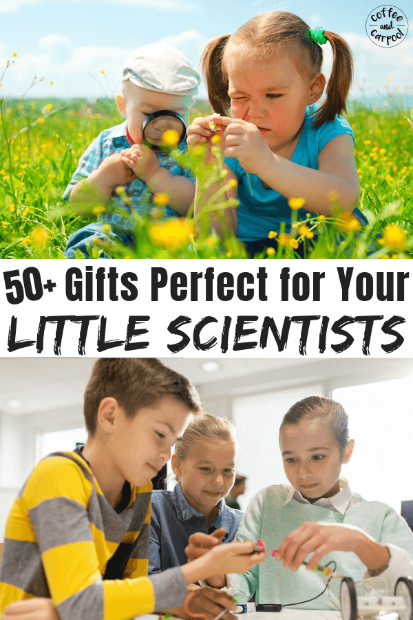 Must have gifts perfect for your little scientists #holidaygifts #giftguides #giftideas #sciencegifts #stemgifts #giftstoencouragescience #giftsforstem