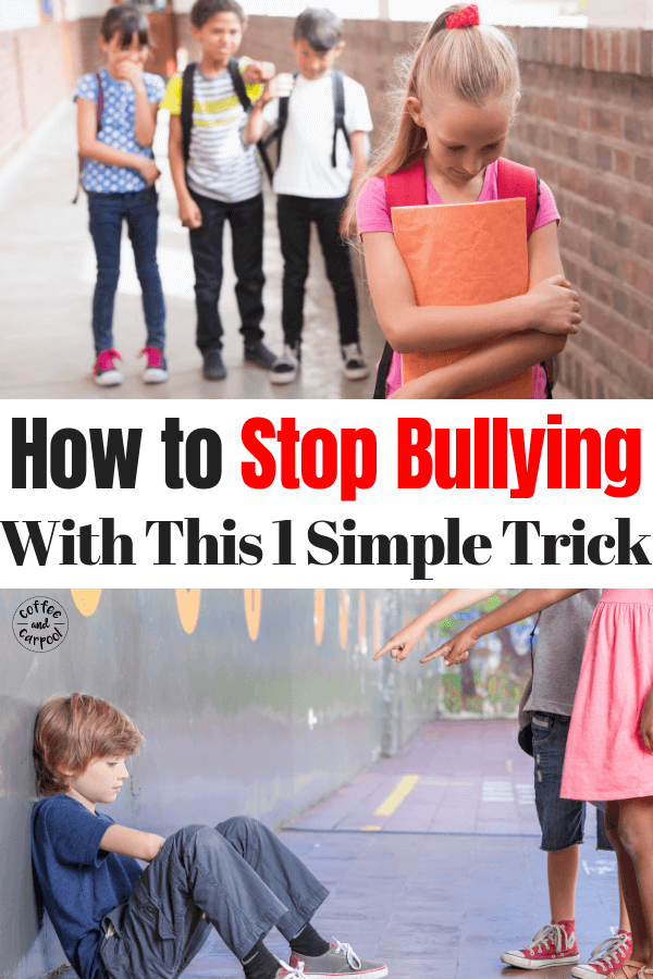 How to stop bullying with this one trick. #stopbullying #bullyingprevention