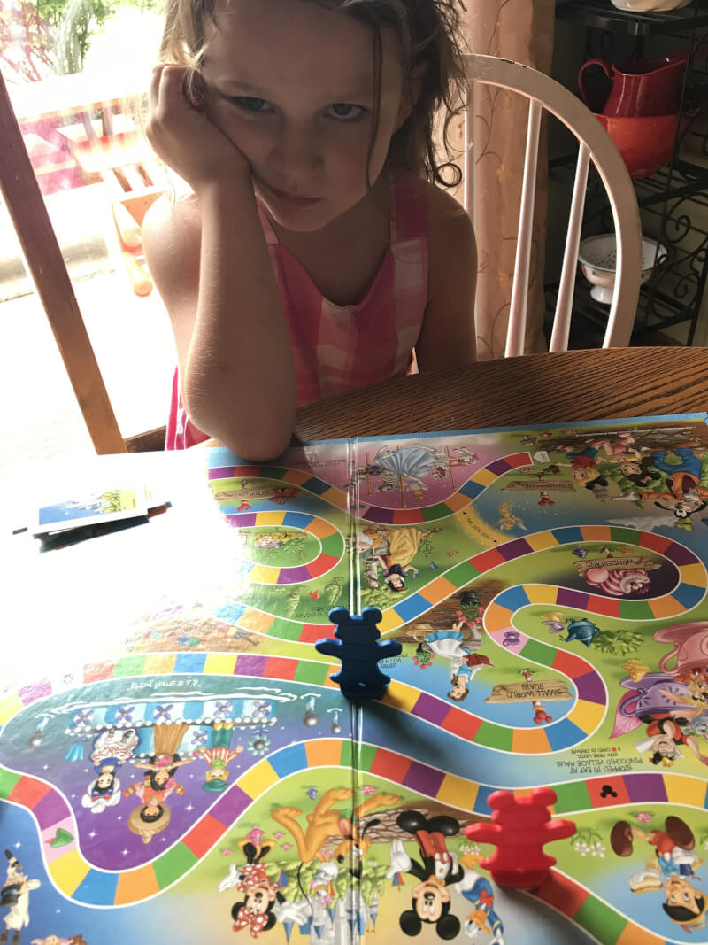 Playing board games with your children doesn't mean they have to win all the time. Losing teaches them so many things. It's okay to lose at games. 24 Quick ways to be a better mom www.coffeeandcarpool.com