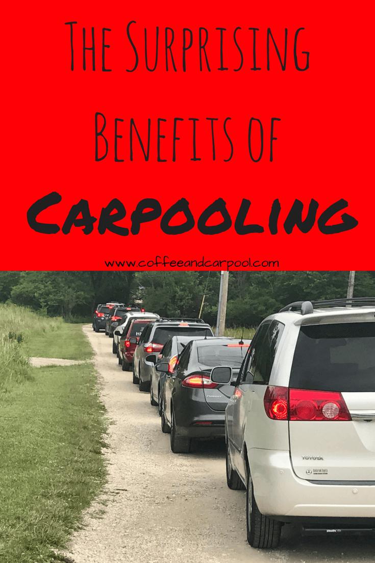 The Surprising Benefits of Carpool...is carpooling right for you? How do you start a carpool. www.coffeeandcarpool.com