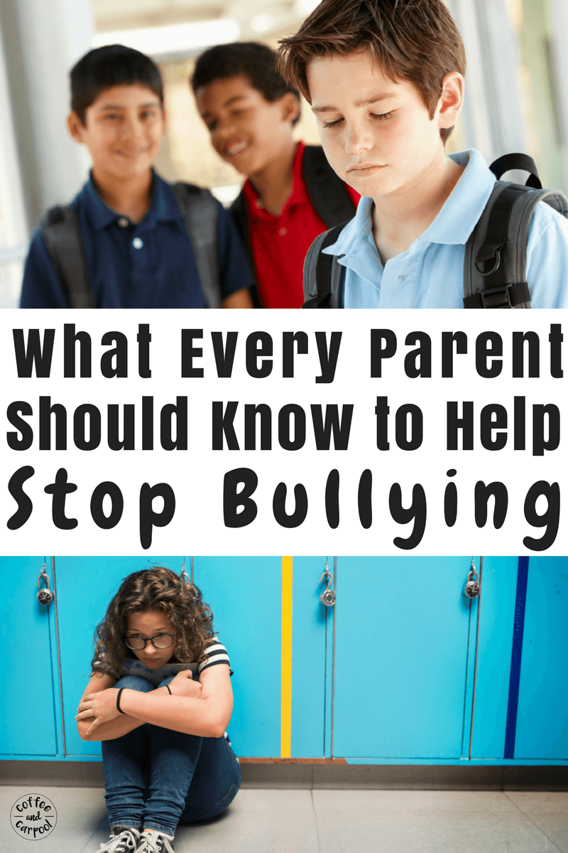 Every parent needs to know this to help end bullying. #bullying #bullyingprevention #bekind #endbullying #stopbullying
