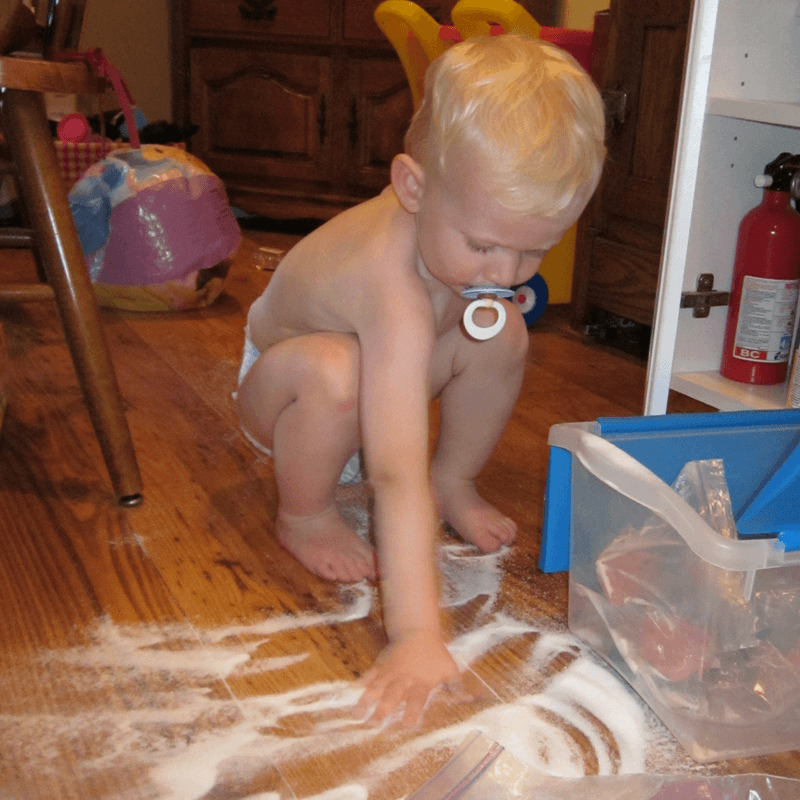 Be Flexible when they dump all of your sugar on the floor when you're baking 24 Quick Ways to Be a Better Mom
