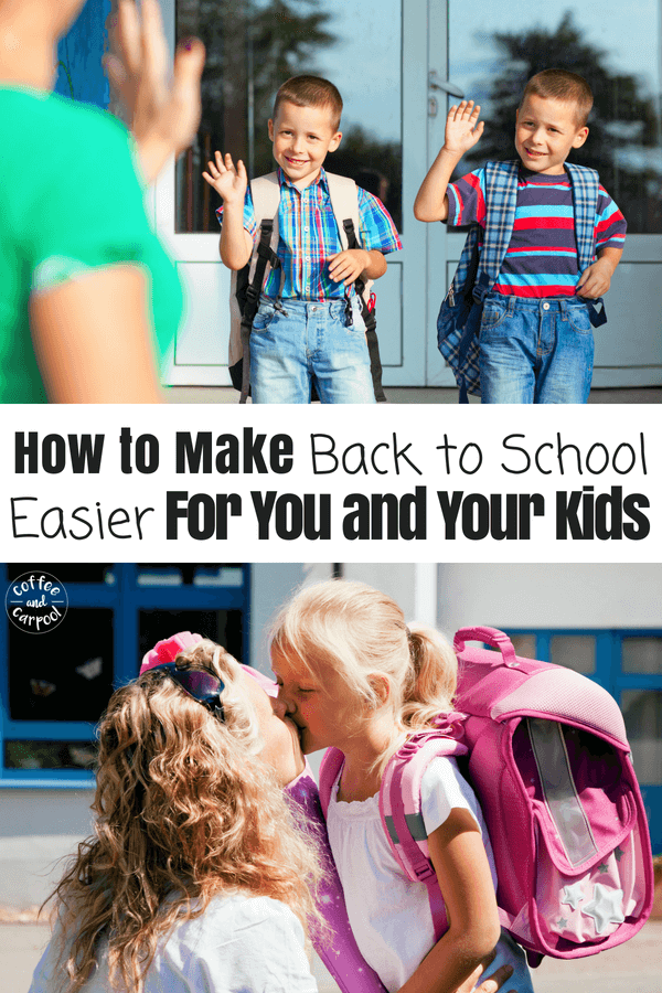21 must know back to school tips to make this fall easier for you and your kids #backtoschool #backtoschooltips #kindergartenreadiness #kindergarten #newkindergartner #coffeeandcarpool