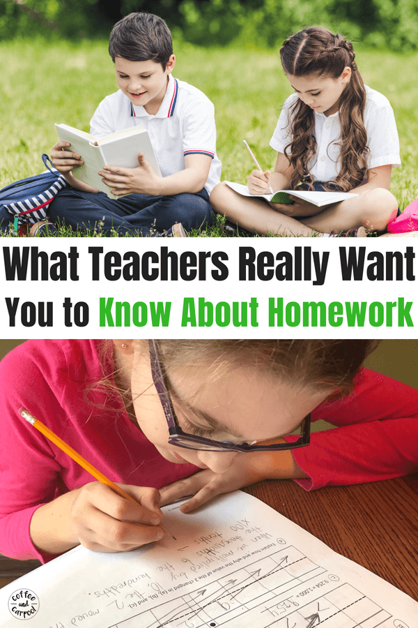 What teachers want parents to know about homework #homeworkhelp #homework #homeworktips #parenthelp #backtoschool #backtoschooltips #coffeeandcarpool