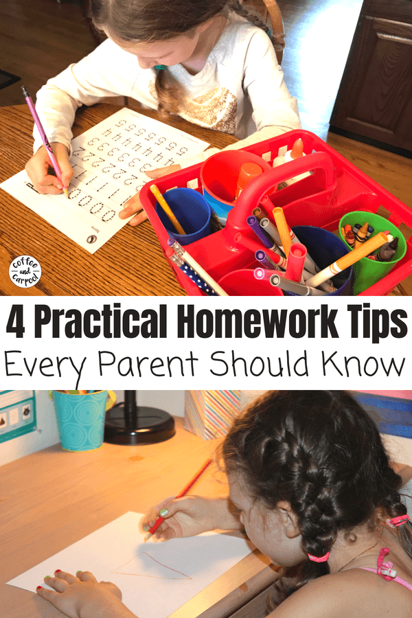 Help kids do their homework with these homework tips #homeworktips #homework #homeworkhelp #coffeeandcarpool #backtoschooltips