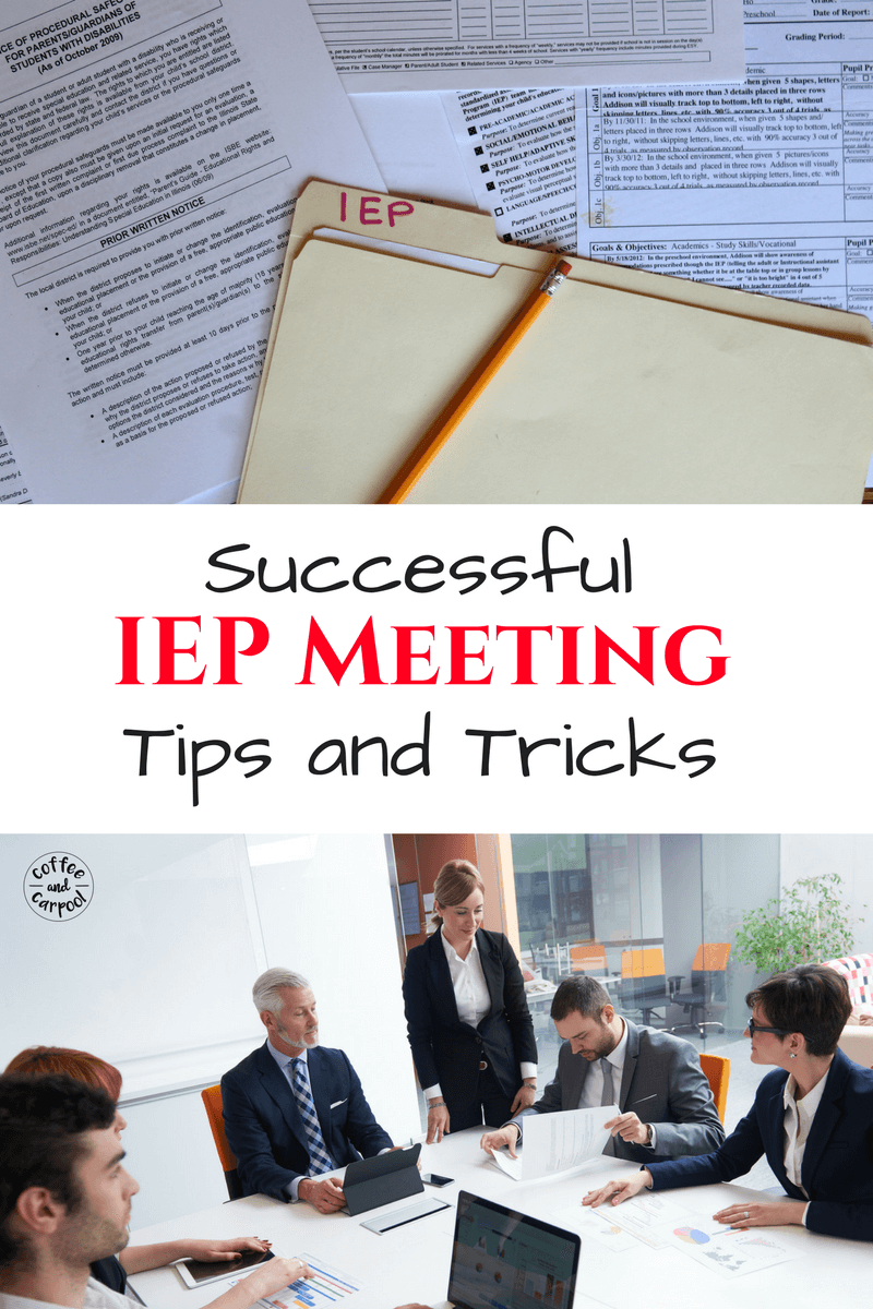 Need 9 Simple Tips to Have a Successful IEP Meetings? www.coffeeandcarpool.com