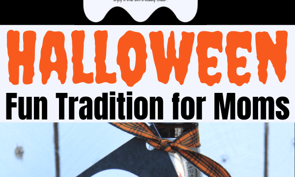 Fun Halloween traditions for mom friends. Instead of You've been booed, drop off your friends' favorite alcoholic drink with this note: You've been boozed so they can trick or drink #Halloween #Halloweenformoms #youbeenbooed #youvebeenboozed #trickordrink #Halloweencocktails #Halloweenforadults #adultHalloween
