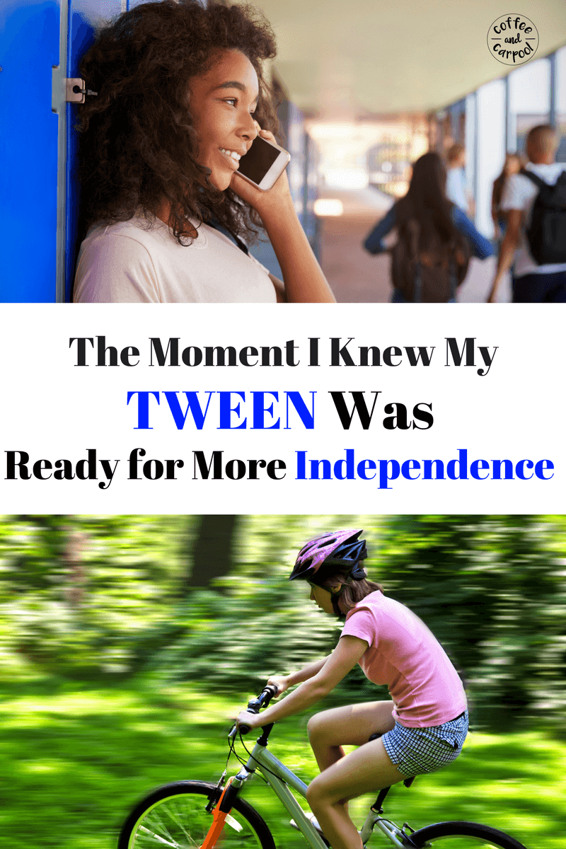 Is your child ready for more independence? Are you setting them up so they're actually ready to handle the independence from you? www.coffeeandcarpool.com