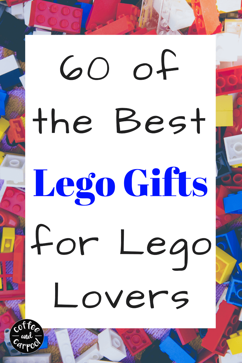 Have a lego lover you need to shop for? This ultimate lego gift list has over 60 lego gifts including: lego gifts to wear, lego gifts to read, lego gifts to eat with and lego gifts to build with. www.coffeeandcarpool.com #Lego #Legogiftideas #Legogifts #holidaygiftlist