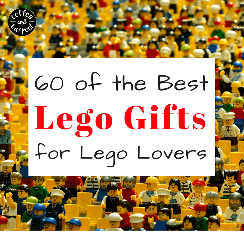 Do you have a lego lover on your shopping list? Here are creative lego gift ideas for them. Lego gifts to wear, to watch, to read, to play and to build with. www.coffeeandcarpool.com #legogifts #holidaygiftideas #legogiftideas #lego