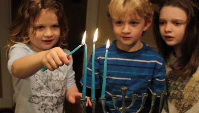 Make Hanukkah more meaningful by letting your kids light the menorah #hanukkah #menorah