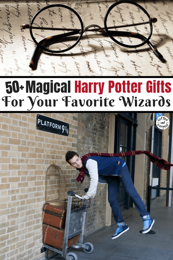 Harry Potter Gifts for the Ultimate Harry Potter Fans #harrypotter #holidaygifts