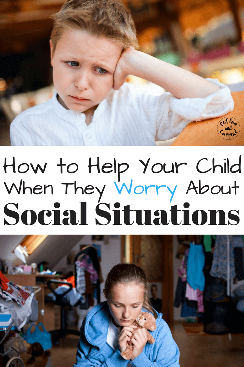 Does Your Child Worry about social situations with their peers? Are they anxious or have anxiety? Do they get made quickly? This free printable will help from the worries workshop! www.coffeeandcarpool.com