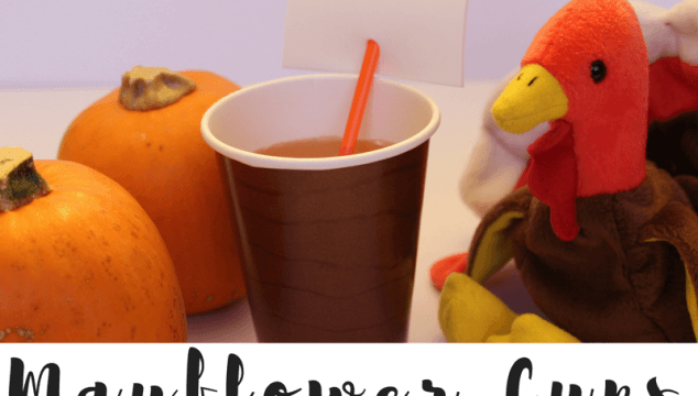Want a fun way the kids can celebrate Thanksgiving? Make these Mayflower cups and get into the Pilgrim spirit this Thanksgiving. #thanksgivingcraft #thanksgivingkids #thanksgivingkidstable #mayflowercup