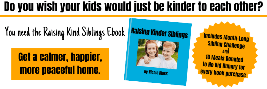 Raising Kind Siblings ebook #raisingkindsiblings #raisingsiblings #siblings #kindkids #kindnessmatters #kindness #coffeeandcarpool