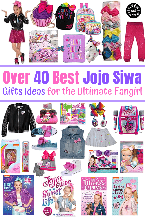 40+ JoJo Siwa gifts for the fangirl in your life that she will absolutely love more than JoJo bows #jojosiwa #jojobows #holidaygifts #holidaygiftideas #giftsforkids #jojosiwagifts #jojogifts #holidaygiftguide