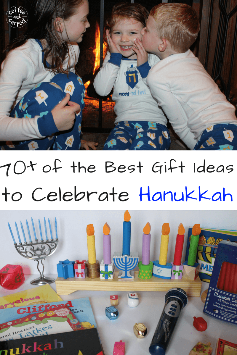 70 of the best gift ideas to celebrate Hanukkah #Hanukkkah #Giftideas #holidaygifts