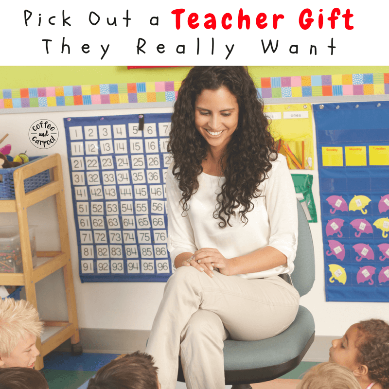 Get the perfect gift for your kids' teachers using ideas from a teacher. Hold the mugs, get these holiday gifts for the teachers on your list. #holidaygifts #GiftIdeas #teachers