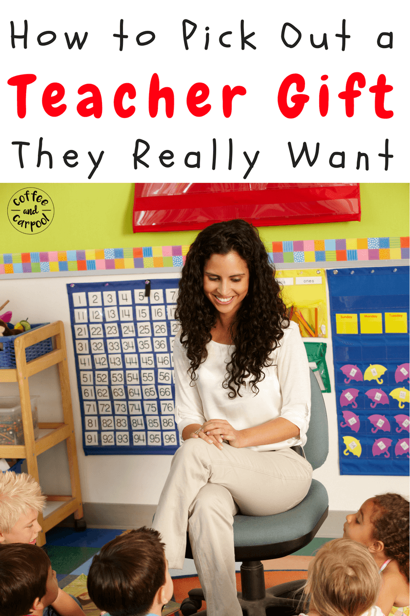 Pick out the perfect teacher gift this holiday with this list of ideas from a teacher. No more mugs or lotions! #GiftIdeas #holidaygifts #teachers