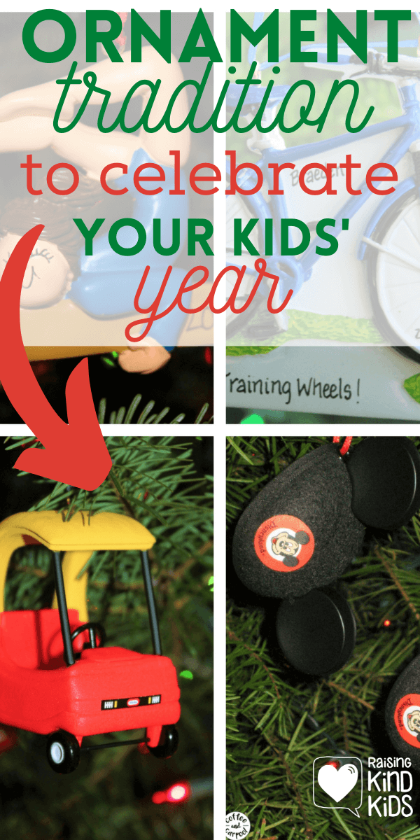 This Ornament Christmas Tradition helps celebrate memories at the end of each year #decembertraditions #familytraditions #Christmastraditions #Christmasforfamilies #Christmasornaments #familytraditions #coffeeandcarpool #familyidentity #familymemories