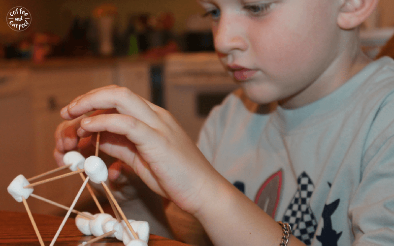 Be a Sillier Mom with these 35 super fun ideas. Hand over the toothpicks and marshmallows and let them build #letthemplay #stem #sillymom #havefun