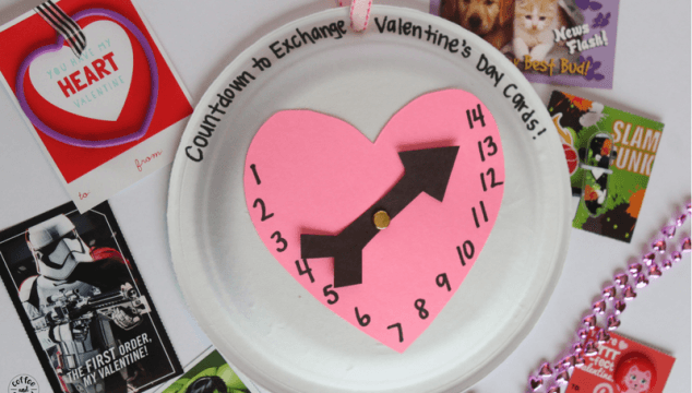 How to Help Kids Make a Valentine's Day Countdown Calendar