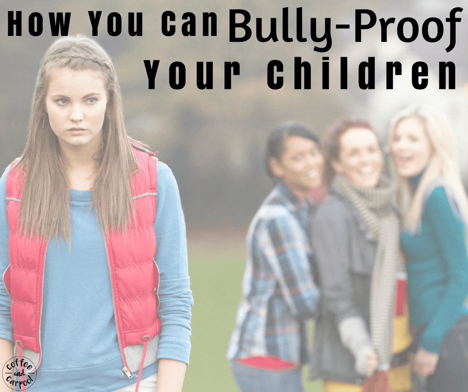 Bully-proof your kids with these 14 tricks to help end bullying and prevent bullying. #endbullying #stopbullying #preventbullying