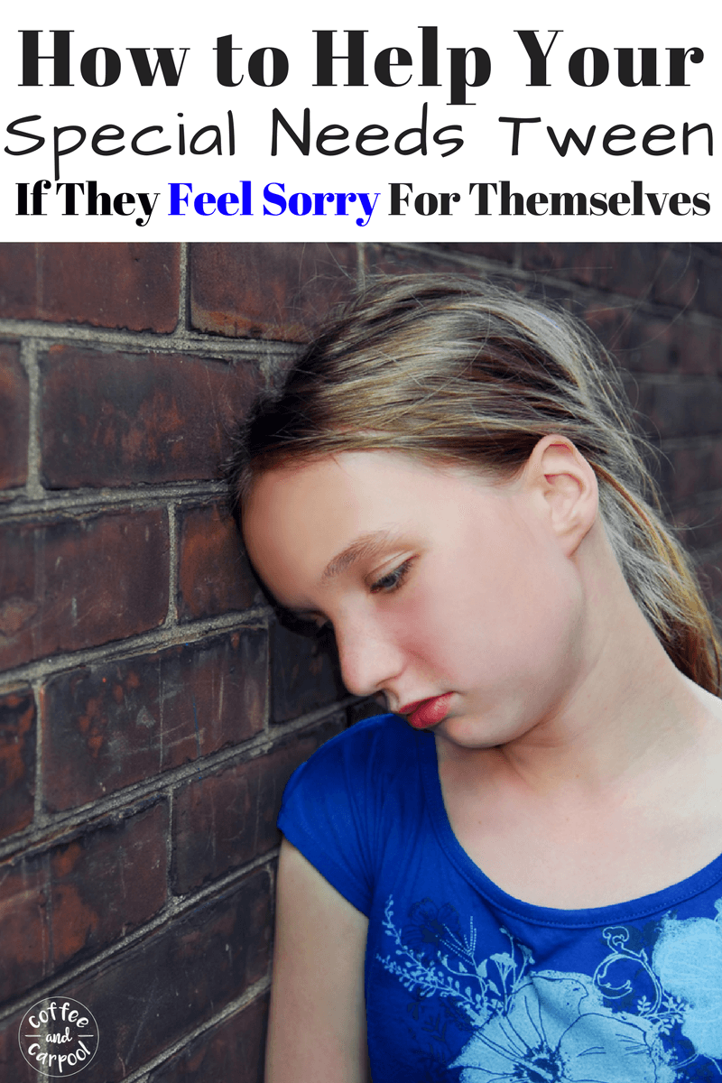 Does your special needs tween feel poor about themselves and have negative self talk. We need to improve our tweens mental health with giving them tips for feeling grateful. #gratitude #specialneeds #tweens #preteens