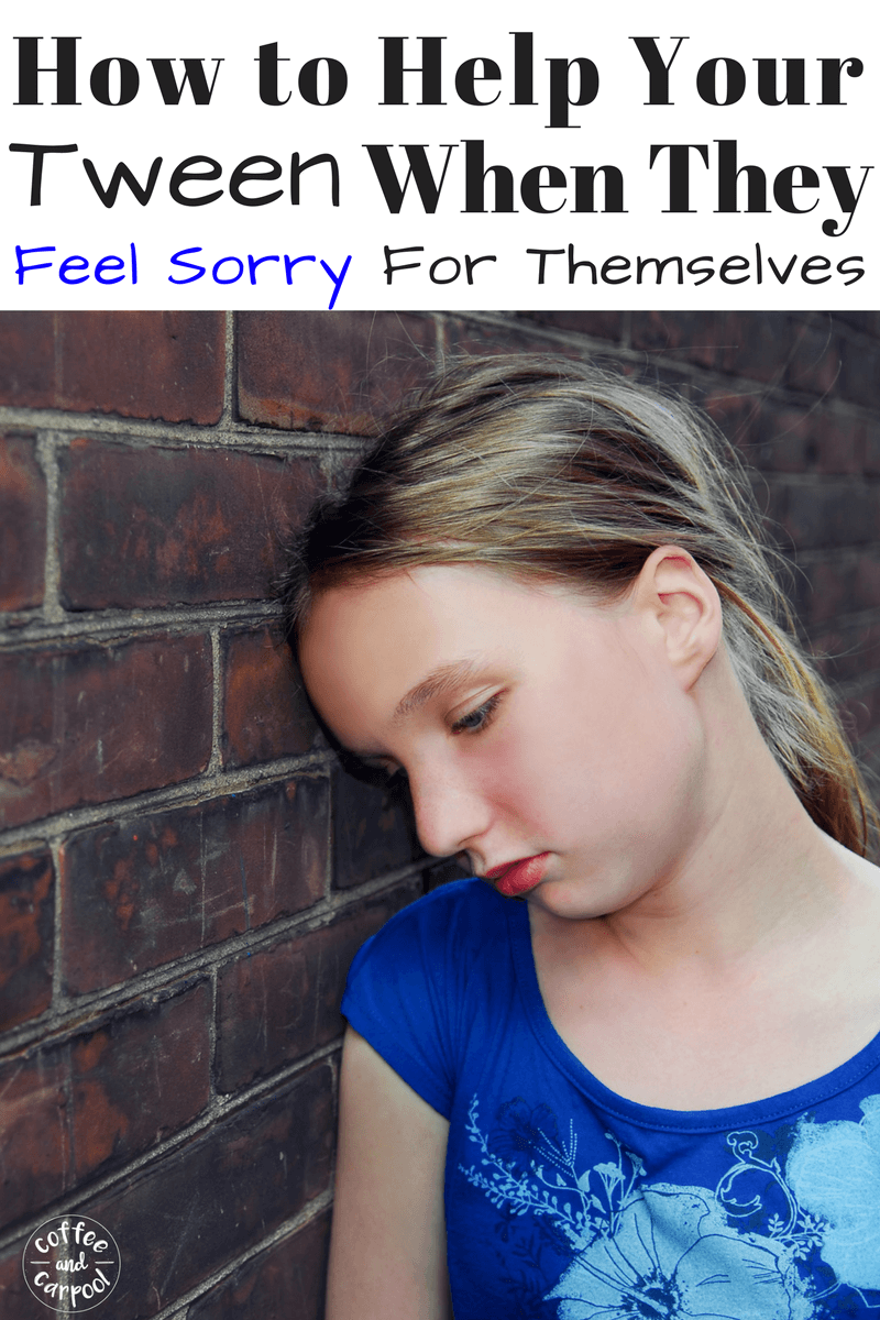 Does your tween feel sorry for themselves and wrongly think their life is too hard? Help them get through the bad days by focusing on being grateful #tweens #gratitude #preteens