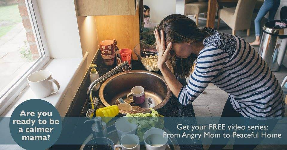Join this free video series to be a less angry mama!