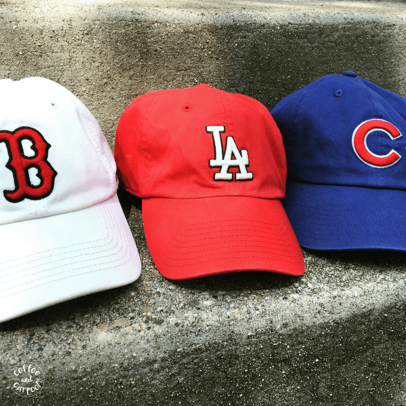 Are you planning a big move with your kids? One simple way to connect with your new hometown is to get the local team's ballcaps to wear. My son instantly fit in with the new kids at school when he had local team gear. #movingwithkids #movewithkids #moving