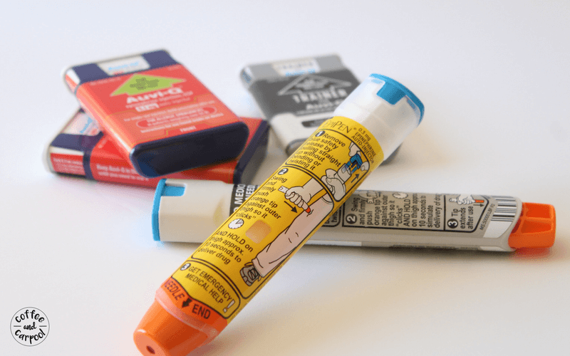If your child is prescribed an epi pen for their food allergy, please make sure that both pens are with them at all times. No exceptions. Always carry two. #foodallergyawareness #foodallergies