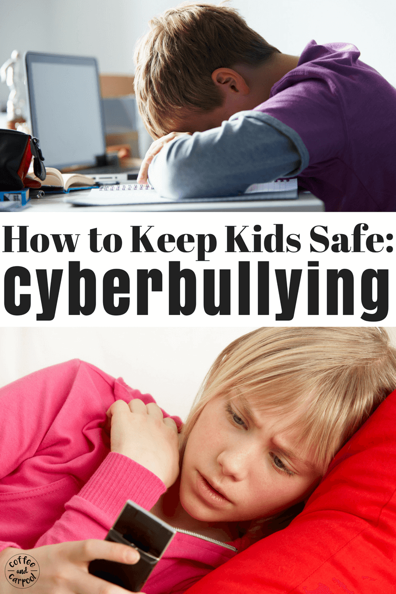 Here's what every parent needs to do BEFORE their tween or teenager is cyberbullied and online bullying. #cyberbullying #cyberbullied #bullyingprevention #bullyprevention #bullies