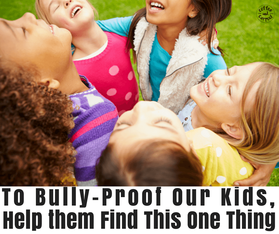 Do Kids Need Friends to be More Bully-Proof?