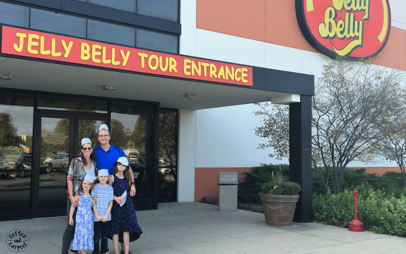 Visit a factory like the Jelly Belly Factory and get free samples. It's a great way to connect more with your family. #familydateideas #familyfun #summerfun #familybucketlist #coffeeandcarpool