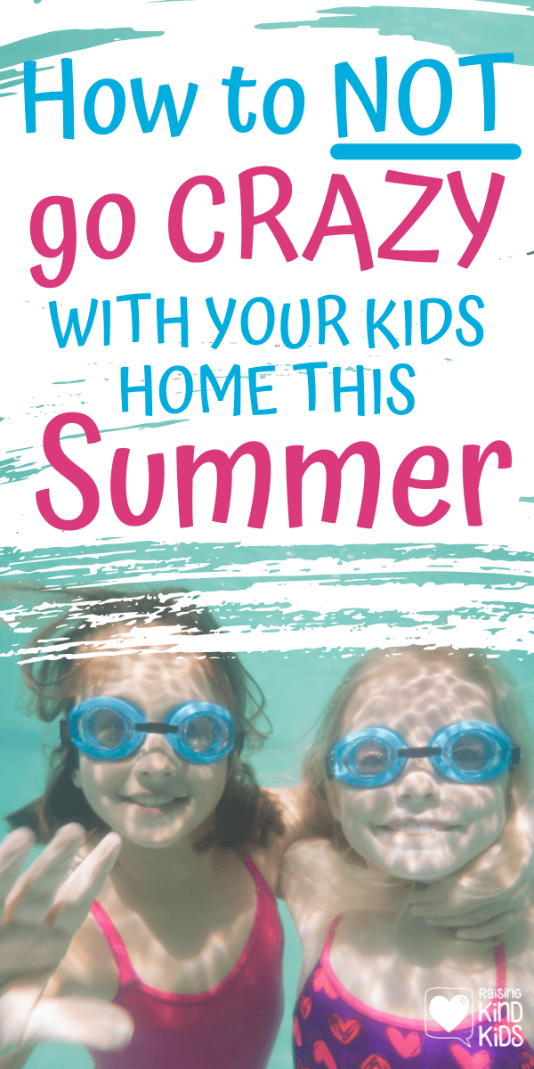 Kids home this summer? Do these 6 things so you don't go crazy and actually enjoy your time with them. #coffeeandcarpool #staycation #campmom #summerfun #summerideas #summerideasforkids #kidssummer