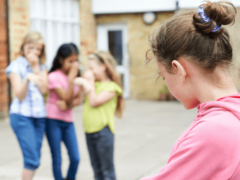 Mean girls can start social exclusion and social bullying as young as kindergarten. But here's what you need to do if you think your daughter is the mean girl. #raisingdaughters #raisinggirls #momofgirls #girlmom #positiveparenting #parenting101