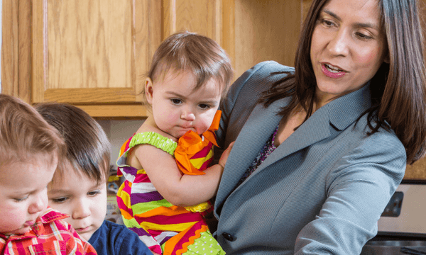How to Reduce the Mental Workload of Moms With One Simple Trick