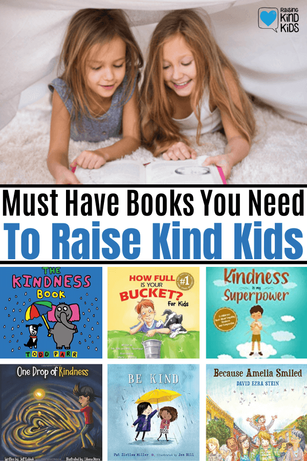 Must read books to raise kind kids. This list includes books on kindness and friendship plus discussion starters to help kids understand what makes a good friend. #booklist #kidsbooks #books #kindkids #raisingkindkids #bekind #friendshipbooks #beagoodfriend #teachingkindness #coffeeandcarpool