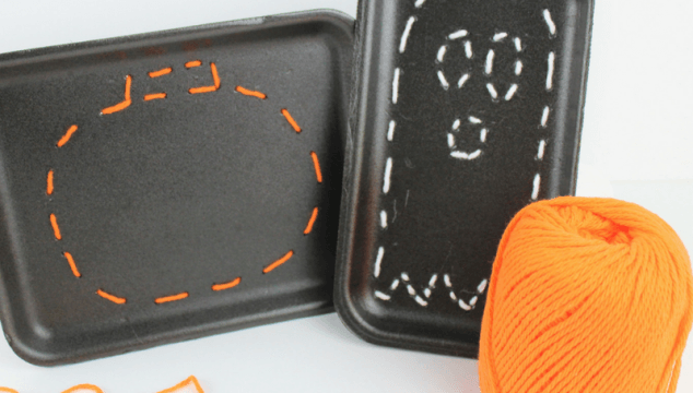 How to Teach Your Kids to Sew with This Halloween Sewing Craft