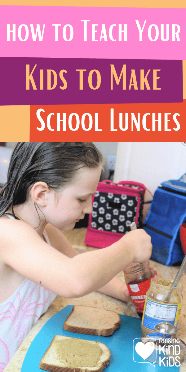 How to Teach your kids how to make their own school lunches with this free printable #freeprintable #backtoschoollunches #schoollunchtips #schoollunchideas #easyschoollunches #coffeeandcarpool