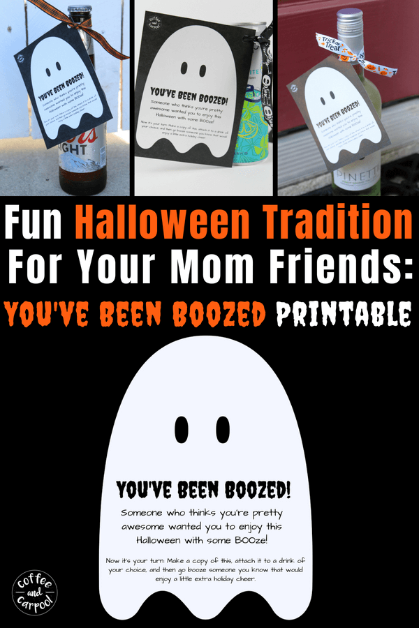 photograph regarding You've Been Boozed Printable referred to as Youve Been Boozed Printable; Halloween Exciting Society for Mothers