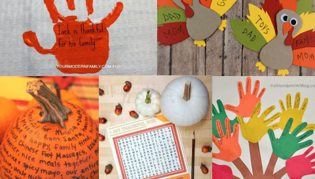 10 of the Best and Most Meaningful Thanksgiving Gratitude Activities