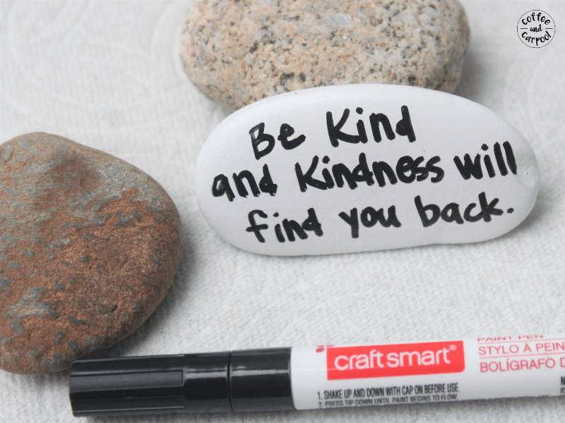 Kindness rocks so spread it around #kindnessrocks