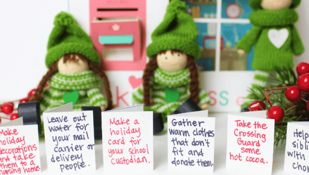 How to Spread Christmas Kindness With the Kindness Elves