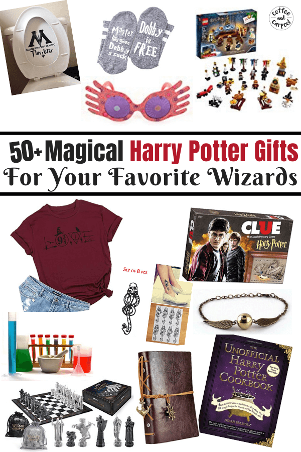 Harry Potter Gifts for the Ultimate Harry Potter Fans #harrypotter #holidaygifts #harrypottergifts #giftsforkids #nerdgifts #geekgifts #potterheadgifts #hpgifts #giftguidesforkids