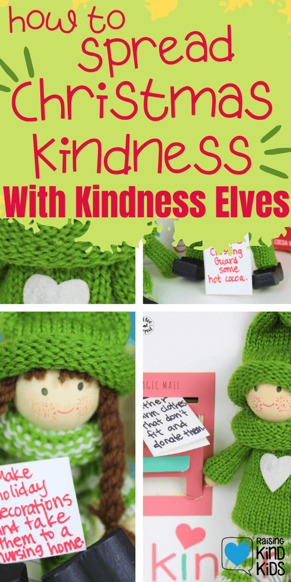 Spread the Christmas spirit and joy with the Kindness Elves at Christmas #kindnesselves #kindkids #christmastraditions #coffeeandcarpool