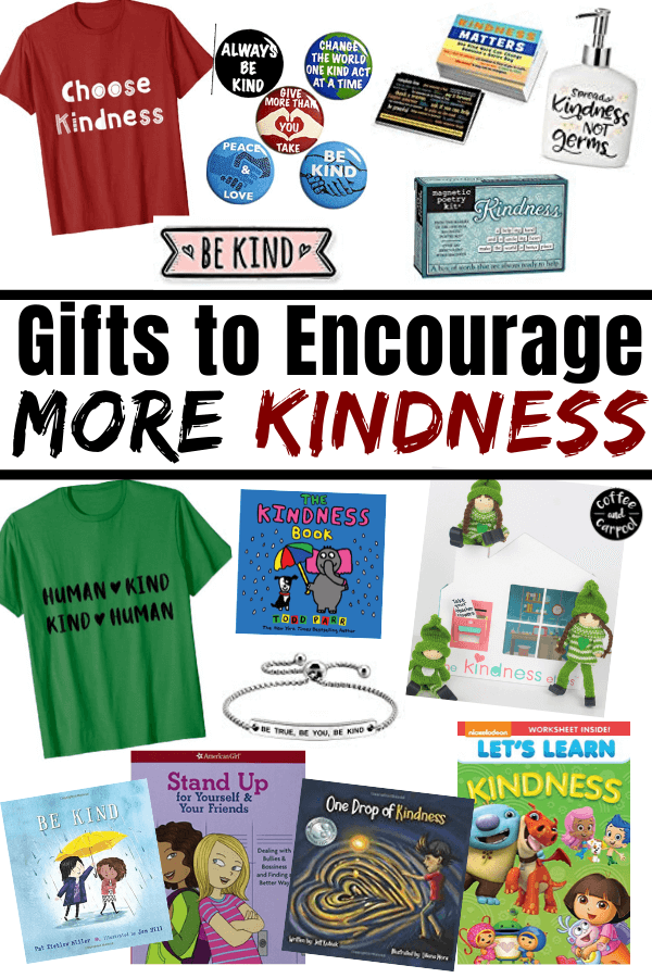 Gifts for Kind Kids to Encourage them to be even kinder #holidaygifts #giftsforkids #raisekindkids