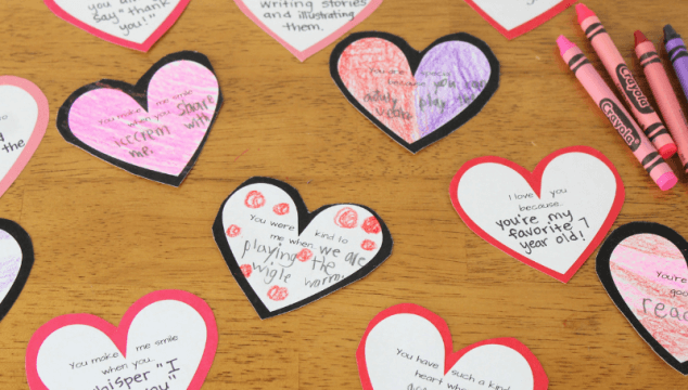How to Celebrate Valentine's Day With 14 days of Kindness Notes for Kids